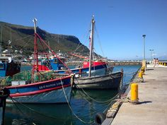 Kalk Bay Harbour Cape Town, Diversity, Sailing Ships, South Africa, Boats, Fishing, Spaces, City, Travel