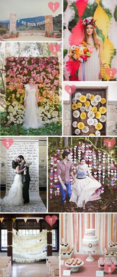 Pinspiration: Banners and Backdrops | Jam + Toast