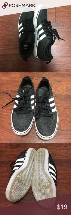 Adidas originals AR-D1 size 4Y Dark grey and white adidas original ortholite sneakers.  Mild wear. adidas Shoes Sneakers