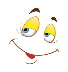 clip art happy face coffee mugs - Yahoo Image Search Results Cartoon Faces Expressions, Funny Cartoon Faces, Cartoon Eyes, Cartoon Drawings, Clay Pot Crafts, Rock Crafts, Eye Painting, Stone Painting, Emoticon Faces