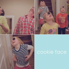 cookie face - minute to win it games