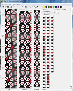 Bead crochet pattern, 11 around Crochet Bracelet Pattern, Loom Bracelet Patterns, Crochet Beaded Bracelets, Bead Crochet Patterns, Seed Bead Patterns, Beaded Jewelry Patterns, Crochet Designs, Beading Patterns, Spiral Crochet