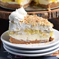 Delicious Caramel Cream Pie made with dulce de leche and cream cheese. This homemade crust is easy and flaky!