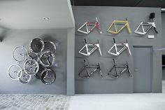 Pave Bike Store by Joan Sandoval - Shop Design Gallery