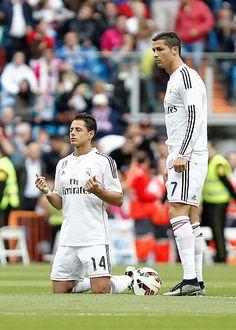 Ronaldo and Chicharito (RM)