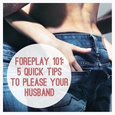 Sex tips please your wife