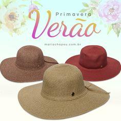 Primavera Verão Floppys, confira mais detalhes no link: http://www.mariachapeu.com.br/chapeus/chapeus-de-ver-o/praia.html