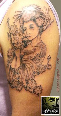 Geisha - Spalla