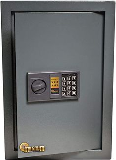 Modern technologies have allowed safe manufacturers to install electronic locks for the security of safes and lockers. Electric locks are opened using the individual code. Digital Safe, Digital Lock, Best Home Safe, Wall Safe, Important Documents, Electronic Lock, Home Safes, W 6