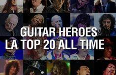 Guarda la gallery di Virgin Radio con i 20 migliori chitarristi della storia del rock!