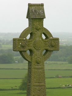 Ireland! What a beautiful moss covered Celtic Cross.  You can see these on our IE1 and XIE tours of Ireland.    www.Adventures-Abroad.com