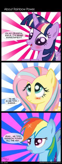 Comic 49: About Rainbow Power by ZSparkonequus.deviantart.com on @deviantART