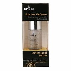 Omojo Fine Line Defense - Amino Acid Serum - .5 oz. by Omojo. $14.99. Firm Fine Lines + Maintain Vital Moisture  100% traceable, all natural ingredients  Fragrance free Amino acids improve skin s ability to stay hydrated, helping to offset the effects of age. Radiant Glow Outside Our serums a...