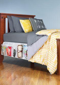WHITMOR Bed Skirt Organizer