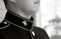 Dress Blues in Black and White | Flickr