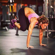 Trabaja todos los músculos con esta posición de trx #Tipsdabalash