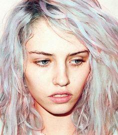 Pastel hair.