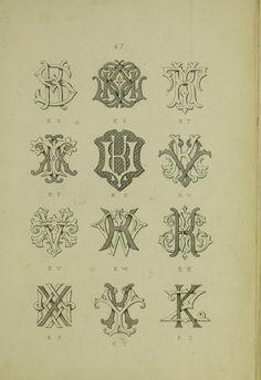 KZ  A monogram and alphabet album