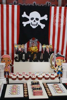 Disney Party Ideas: Jake and the Neverland Pirates Party Jack The Pirate, Pirate Baby, Pirate Birthday, Pirate Theme, Dream Party, Birthday Photos, Birthday Party Decorations, Party Planning, Party Time