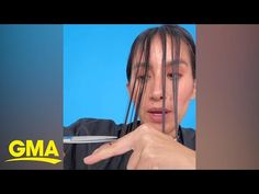 Celebrity hairstylist Jen Atkin demonstrates how to cut your own hair at home. How To Cut Fringe, Jen Atkin, How To Cut Your Own Hair, Celebrity Hair Stylist, Good Morning America, Hairdresser, Hair Inspiration, Bangs, Thinking Of You