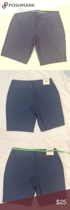 "NWT GAP 10"" Bermuda shorts NWT blue and white Bermuda shorts GAP Shorts Bermudas"