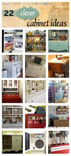 22 Creatively Clever Cabinet Ideas