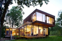 Modern home in Wisconsin