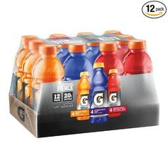 24-Pack 20oz Gatorade Fierce Thirst Quencher (variety pack) $12.70  Free S/H @Amazon