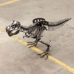 Metal Art T-Rex
