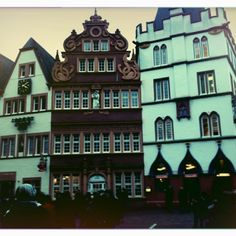 Trier, Germany. The oldest city in Germany. Totally beautiful. Especially the Roman bath ruins.