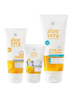 Aloe Vera Sun Set Extra Protection For Face And Body!
