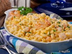 Seafood Mac And Cheese, Macaroni And Cheese, Mac Cheese, Seafood Recipes, Cooking Recipes, Pasta Recipes, Cooking 101, Cheese Recipes, Fresco