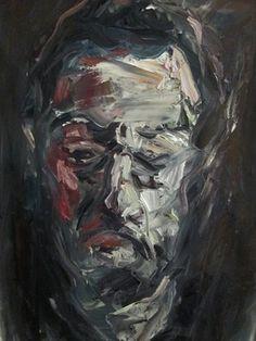 "Saatchi Online Artist Masri Hayssam; Painting, ""My Half"" #art"