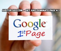 Dominate page one ranking with Jupiter SEO experts. Visit - http://www.jupiter-seo.com/