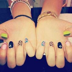 Girl power nails
