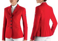 Paradise Farm and Tack� - EquiLine Gait Womens Riding Jacket, $799.99 (http://www.paradisefarmandtack.com/equiline-gait-womens-riding-jacket/)
