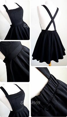 Women's Dresses for sale Mode Outfits, Girl Outfits, Casual Outfits, Kawaii Fashion, Cute Fashion, Men's Fashion, Overall Skirt, Kawaii Clothes, Diy Clothing