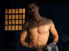 This is not about Fashion but Theo James is soooo hot!