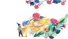 Fairy Tale - Livia Coloji #girl #gnome #fantasy #legend #childrensbook #illustration #kidlitart #liviacoloji