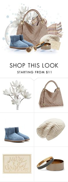 """Blue Christmas"" by moomoofan1972 ❤ liked on Polyvore featuring Empreinte, UGG Australia, Forever New, J by Jasper Conran and Marcia Moran"