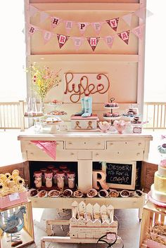 Vintage Cowgirl Dessert Table