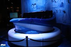 Florida Thrills Network - SeaWorld Orlando Unveils Ride Car for Antarctica: Empire of the Penguin