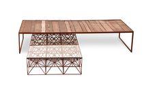 Mesa ARAMADA e STRIP Design : Marcus Ferreira