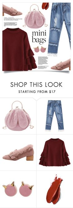 """""""So Cute: Mini Bags"""" by mahafromkailash ❤ liked on Polyvore featuring Balmain"""