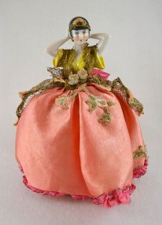 Gorgeous and Rare Vintage Half Doll