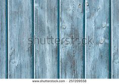 Blue painted wood panels for background or texture