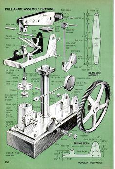Popular Mechanics August 1969 - Walking Beam Engine