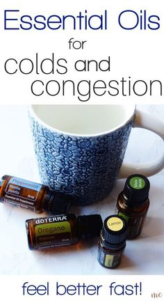 The best essential oils for colds and congestion, including how to use them. Cle… The best essential oils for colds and congestion, including how to use them. Clear up your cold quickly with essential oils! Essential Oils For Congestion, Oils For Sinus, Essential Oils For Colds, Essential Oil Uses, Essential Oil Diffuser, Doterra Congestion Blend, Helichrysum Essential Oil, Doterra Oils, Doterra Oil For Cough