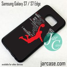 Jordan History Phone Case for Samsung Galaxy S7 & S7 Edge