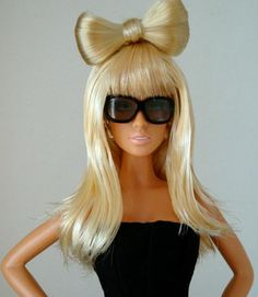 Barbie and Lady Gaga are two giant icons, one fictitious and one real. Now how would they look when crossed?